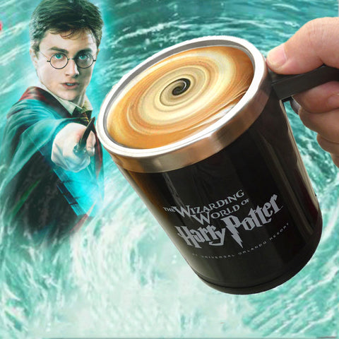Magical Harry Potter Self Stirring Mug