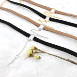 Small Circle Velvet Chokers
