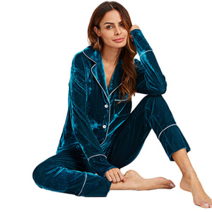 Top and Pants Pajama Set