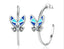 925 sterling silver butterfly hot selling earring - Xingjewelry
