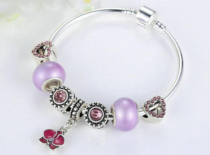 combination bracelet with charms - Xingjewelry