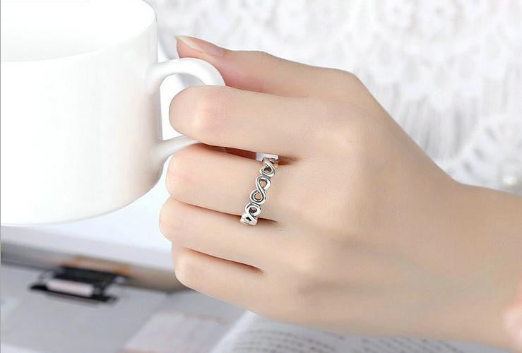 simple 925 sterling silver ring - Xingjewelry