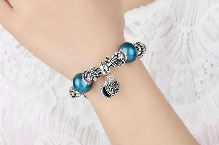 silver coated combination bracelet - Xingjewelry