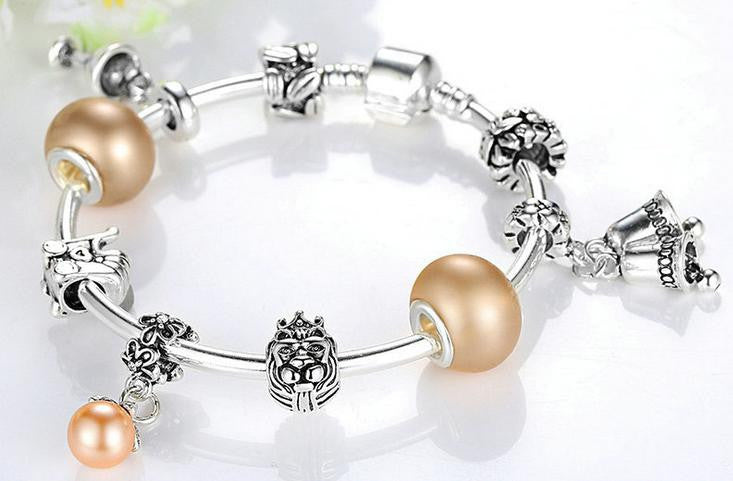 silver coating combination bracelet - Xingjewelry