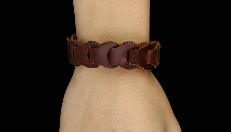 leather bracelet amazon hot selling one - Xingjewelry