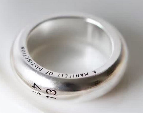 925 sterling silver 1314 love ring - Xingjewelry