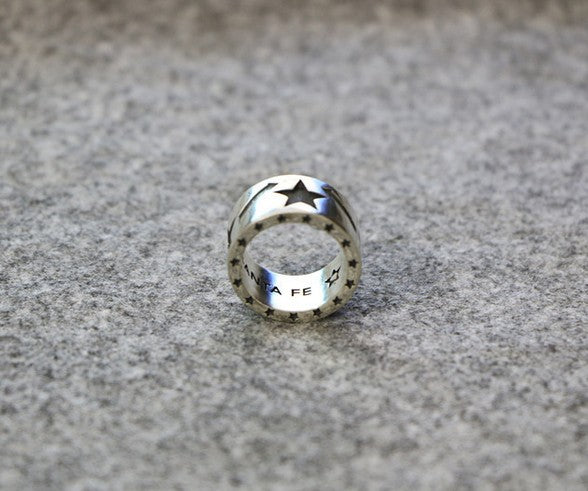 925 sterling silver heavy metal ring