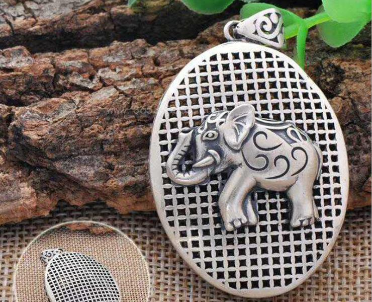 990 silver elephant pendant for necklace - Xingjewelry
