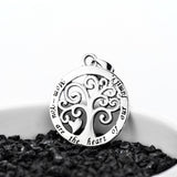 925 sterling silver family tree necklace - Xingjewelry