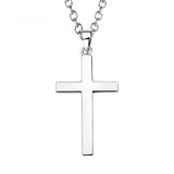 925 sterling silver cross necklace - Xingjewelry