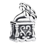 925 sterling silver music box charm