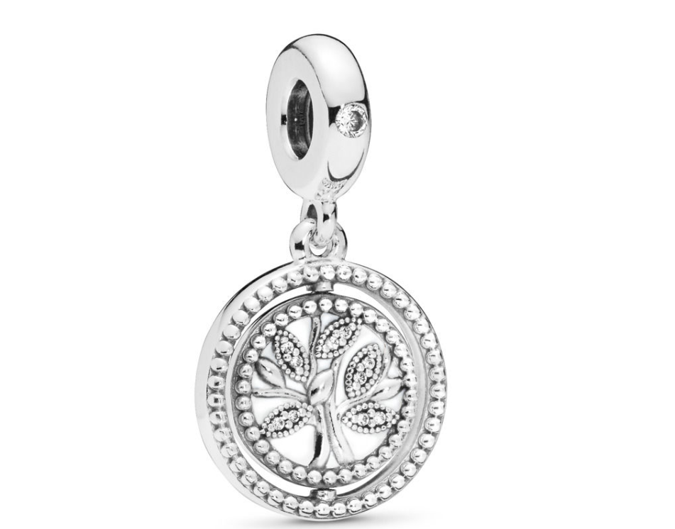 Spinning Pandora Tree of Life Dangle Charm
