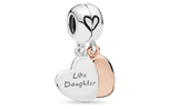 Mother & Daughter Love Dangle Charms