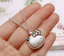 925 sterling silver hello kitty pendant necklace