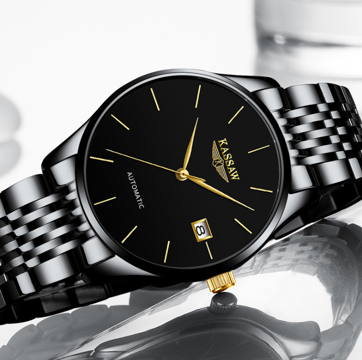 Kassaw automatic man simple watch