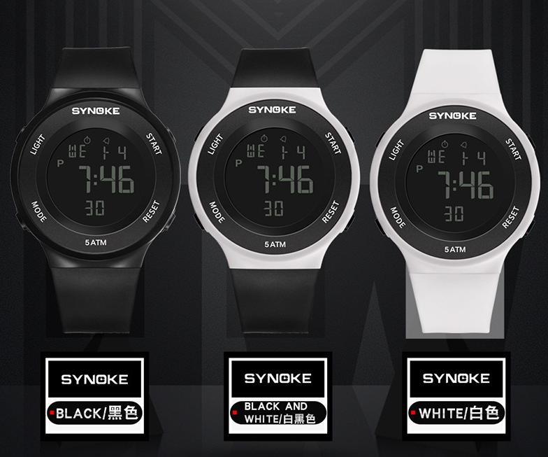 Synoke sports led night light watch