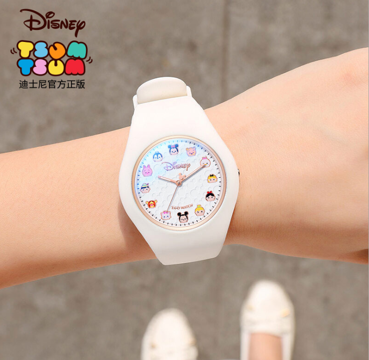 Digital disney pink mickey minnie tsum tsum watch