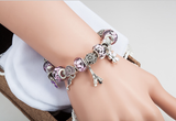 european charm bracelet paris theme