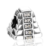 925 sterling silver mayan pyramid bracelet necklace charm