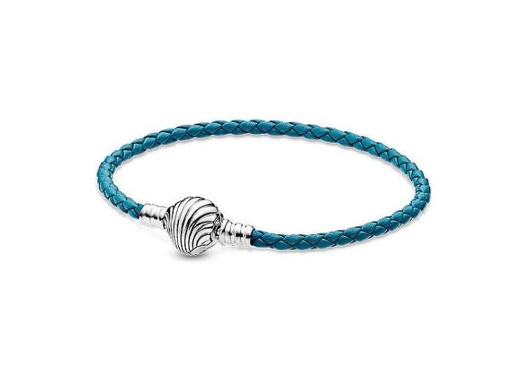 pandora leather bangle bracelet