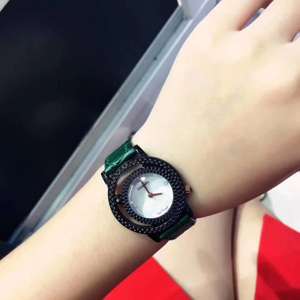 New hot Chanel watch for woman red/green/black - Xingjewelry