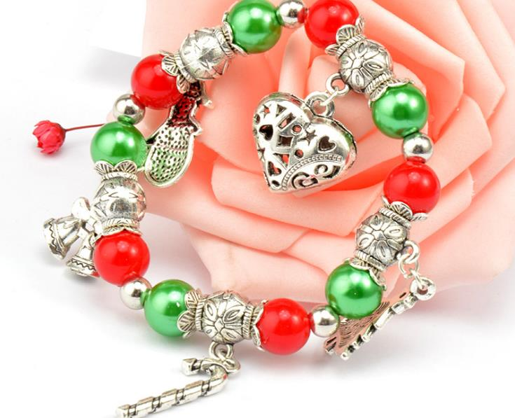 christmas gift charm bracelet - Xingjewelry