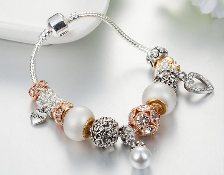 luxury color charms bracelet - Xingjewelry