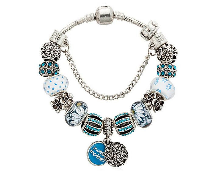 Sweet mother charm bracelet - Xingjewelry