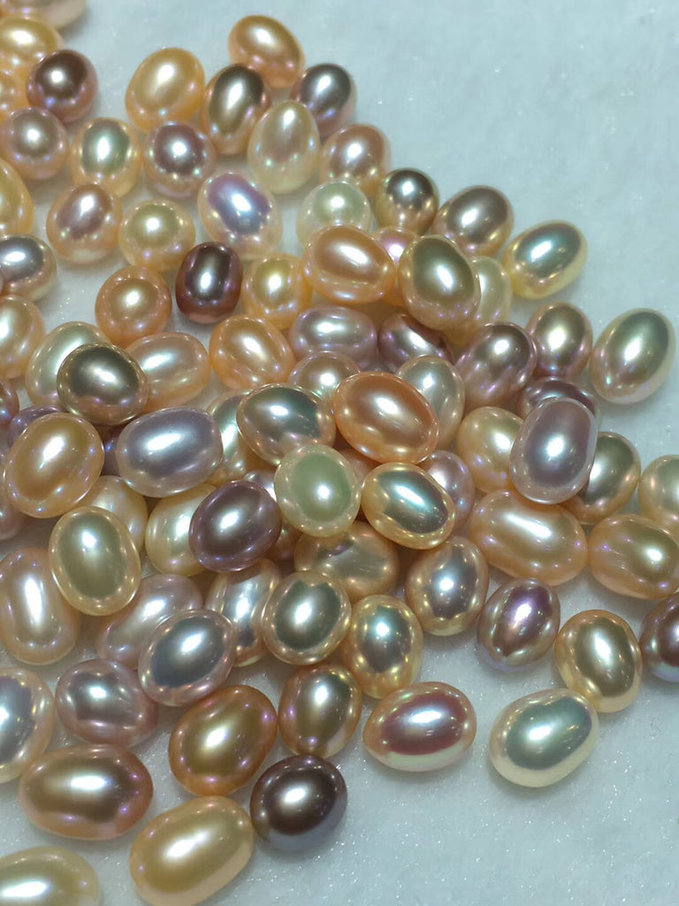 Mixed color rice pearl bead