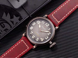 Zenith automatic leather belt man watch for man woman