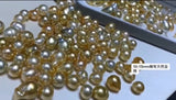 Natural south sea golden pearl beads