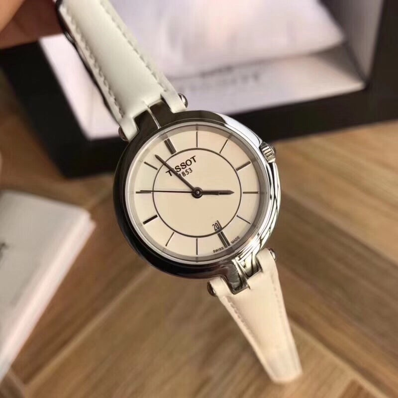 Tissot T-lady quartz white fashion watch for woman