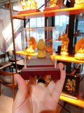 18k gold fortune gold art statue