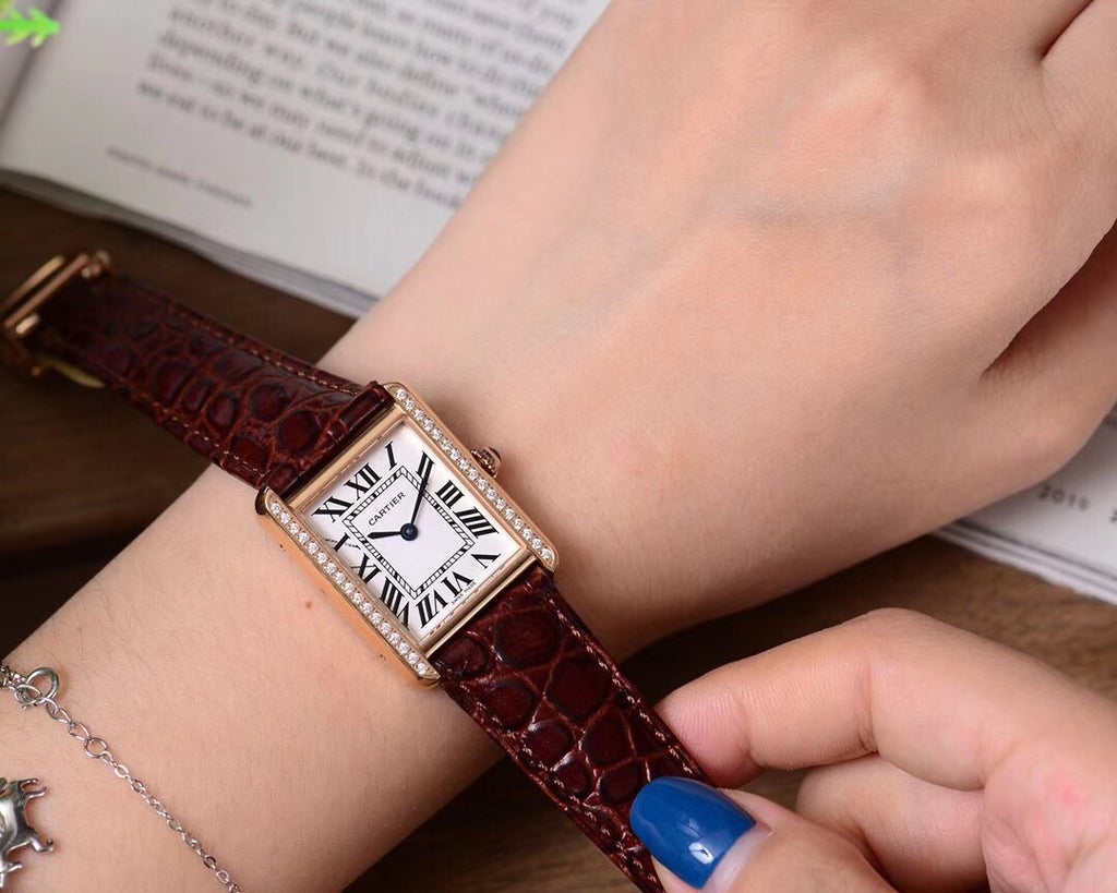 Automatic Cartier woman watch