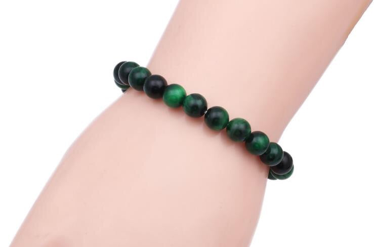 Green tiger eye bracelet - Xingjewelry