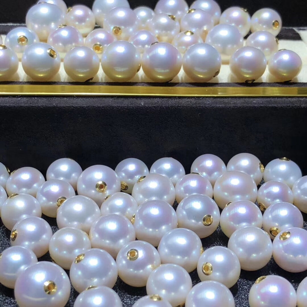 9.5-10 mm Akoya pearl bead for necklace