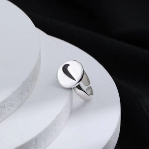 Sterling silver Nike open ring
