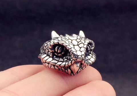 Cobra silver ring - Xingjewelry