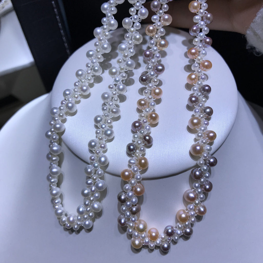 New style hot selling Fresh water pearl necklace