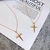 18k gold cross necklace - Xingjewelry