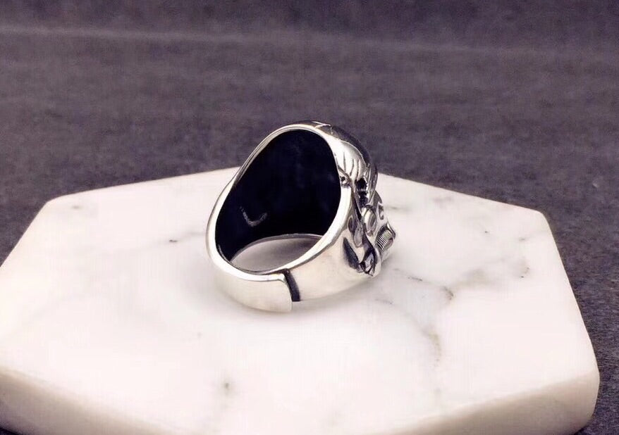 925 sterling silver Star War soldier ring - Xingjewelry