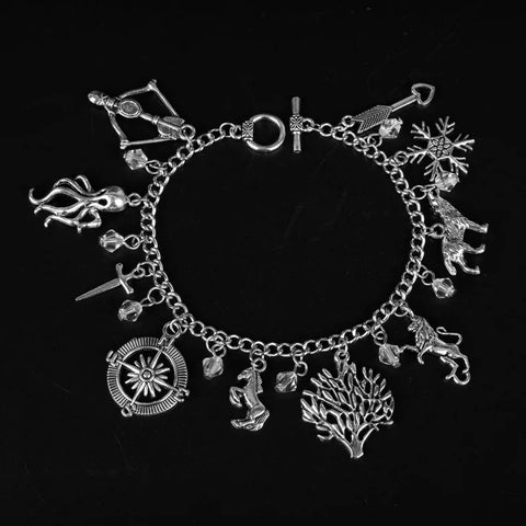 Game of throne charm bracelet