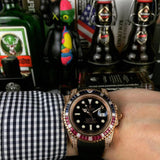 Rolex automatic watch rose gold eidition