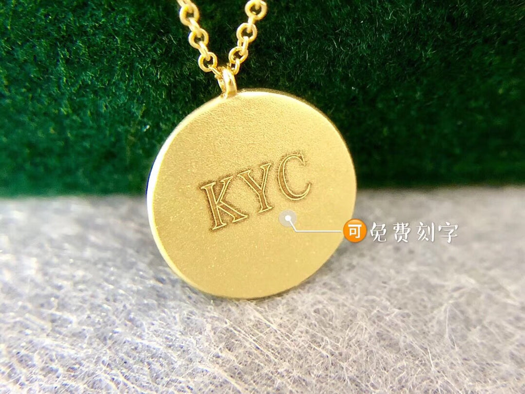 18k gold rich pendant necklace - Xingjewelry