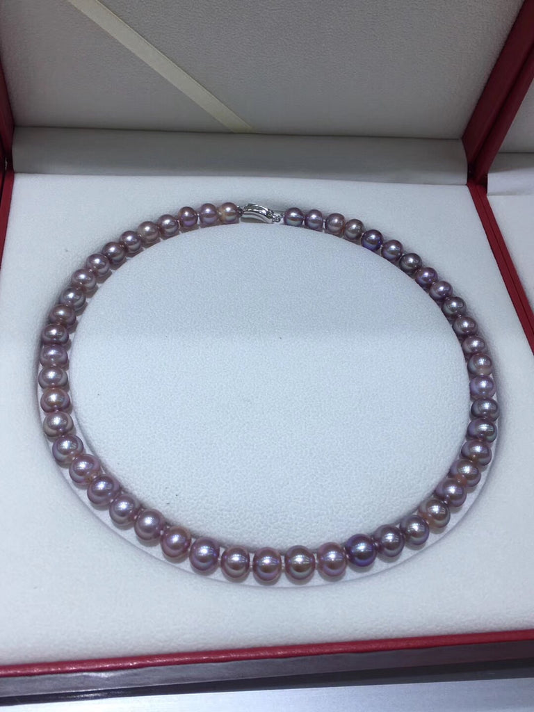 Fresh water pearl bead necklace