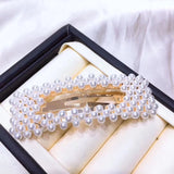 Fresh water pearl hair band hair clip
