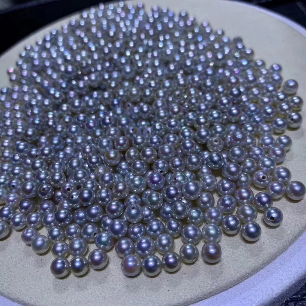4-4.5 mm Japanese Akoya pearl bead wholesale