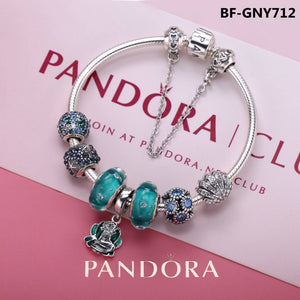 pandora light blue theme lotus flower