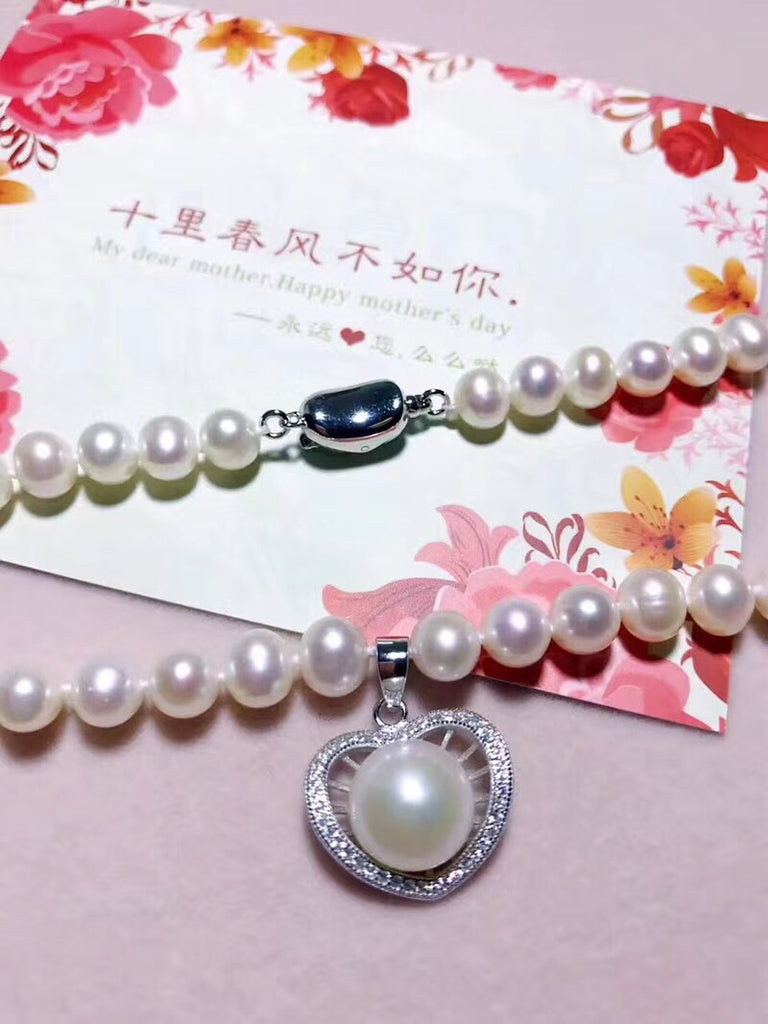 Natural pearl necklace - Xingjewelry