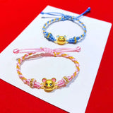 18k gold Mickey Mouse bracelet